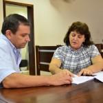 Vereador Valdir e secretária de planejamento estudam soluções para desmembramentos de lotes urbanos