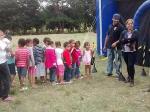 Capivari: Cine Inflável apresenta filme Divertidamente na Praça Central