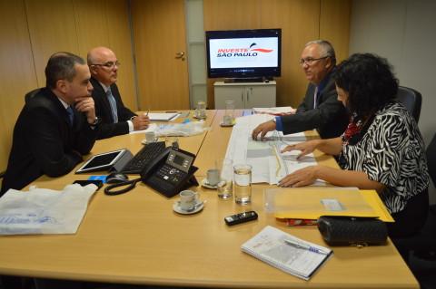 Indústria e Turismo são temas de reunião com o Investe São Paulo