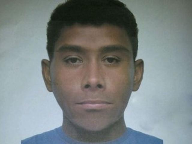 Retrato falado do suspeito de matar prefeito de Elias Fausto (Foto: Divulgação/Polícia Civil)