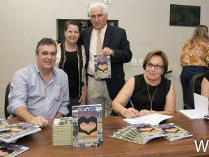 """Família do escritor Pedro Silveira Rocha lança livro """"Rafard – Cidade Coração, segundo volume (Foto:WA)"""