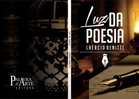 Capa do Livro, Luz da Poesia: Editora Palavra é Arte