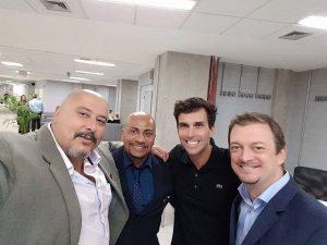 Capivari: O Conselheiro Nacional do Esporte,Marcio Moreira, participa de reunião no Parque Olímpico do Rio