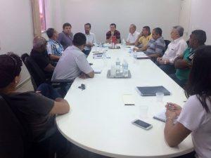 Prefeito se reúne com vereadores na Câmara Municipal de Capivari