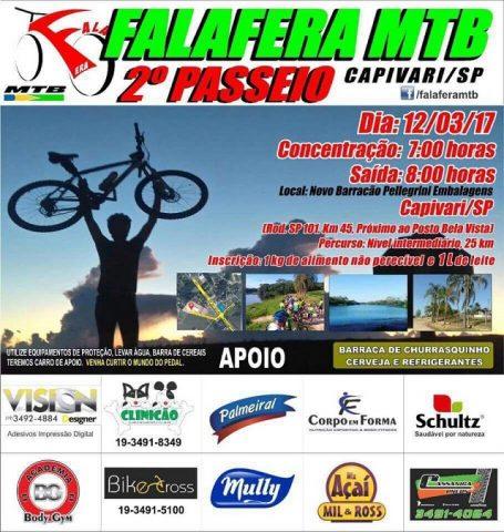 Capivari: 2º Falafera Motain Bike acontece em março