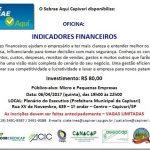 Capivari: Sebrae oferece palestra sobre indicadores financeiros